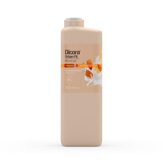 gel de baño almonds&nuts, 750ml