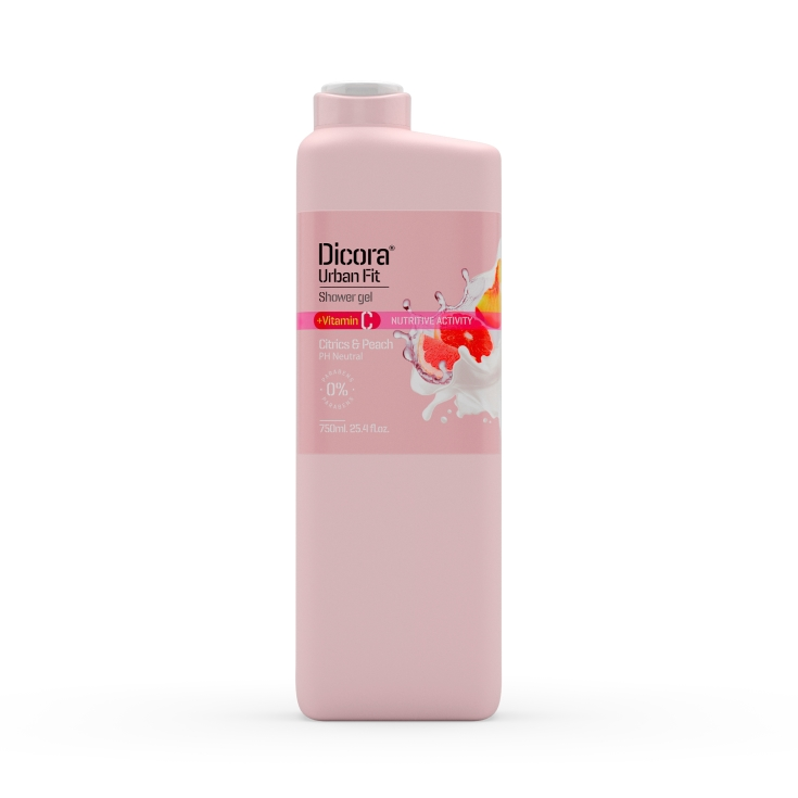 gel de baño citrics&peach, 750ml