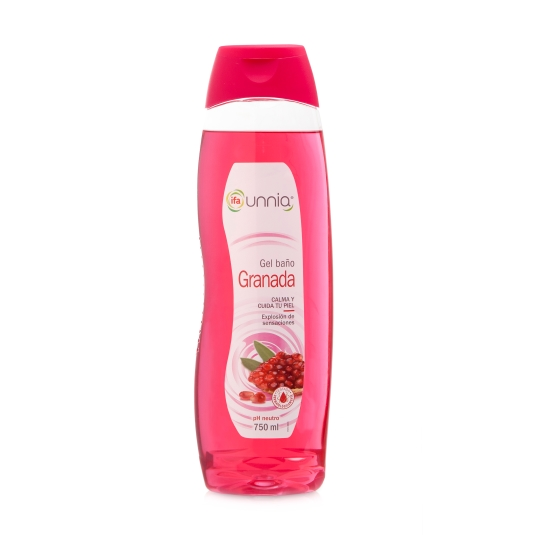 gel de baño granada, 750ml