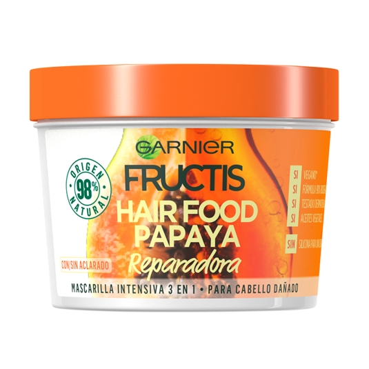 mascarilla hair food papaya, 390ml