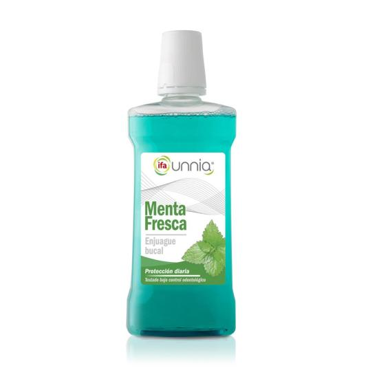 enjuague bucal menta fresca, 500ml