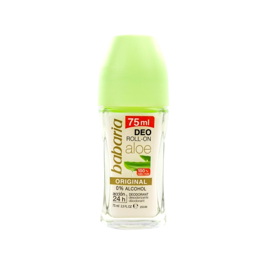 desodorante roll-on aloe vera, 75ml