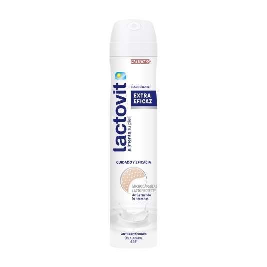 desodorante spray extra eficaz, 200ml