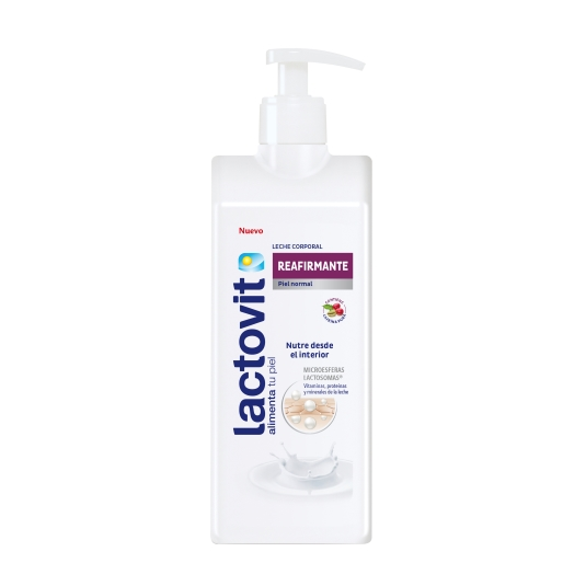 leche  corporal reafirmante, 400ml