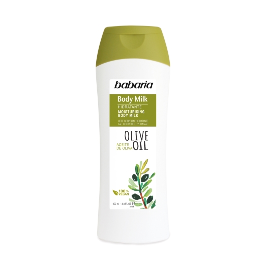 body milk oliva, 400ml