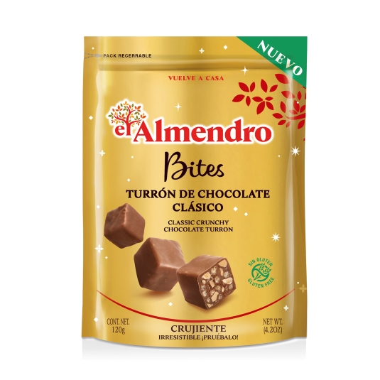 bites chocolate leche, 120g