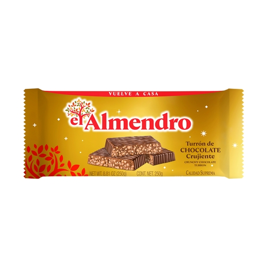 turrón chocolate, 250g