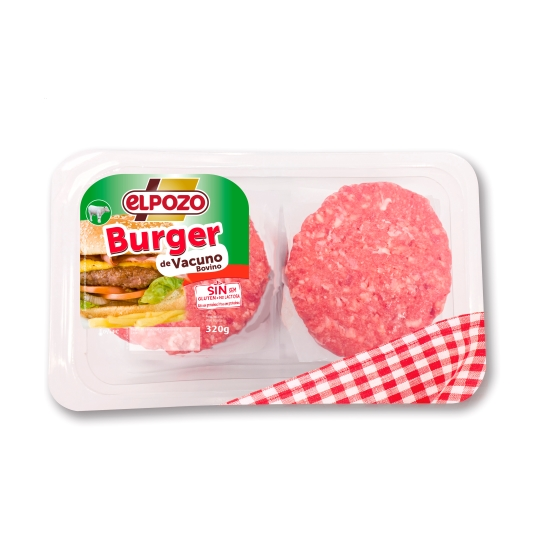 burger ternera, 320g